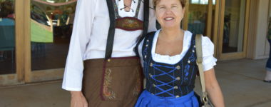 Tom & Cheryl in their best Oktoberfest Clothes