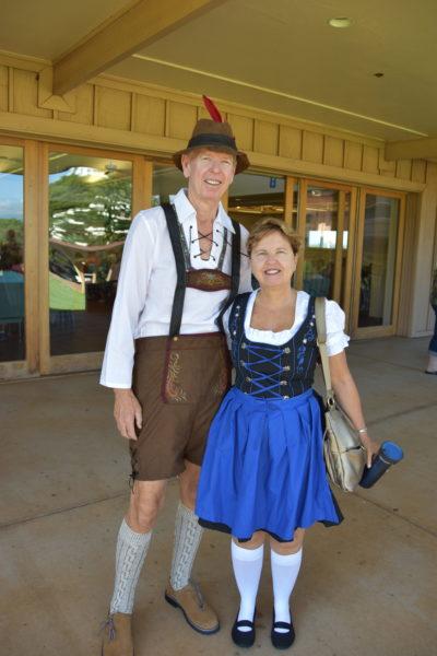 Tom & Cheryl in their best Oktoberfest Clothes