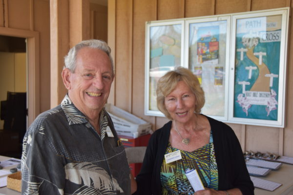 Welcome back Tony & Margaret Luteijn!
