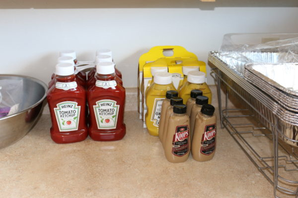 That's A Lot Of Condiments