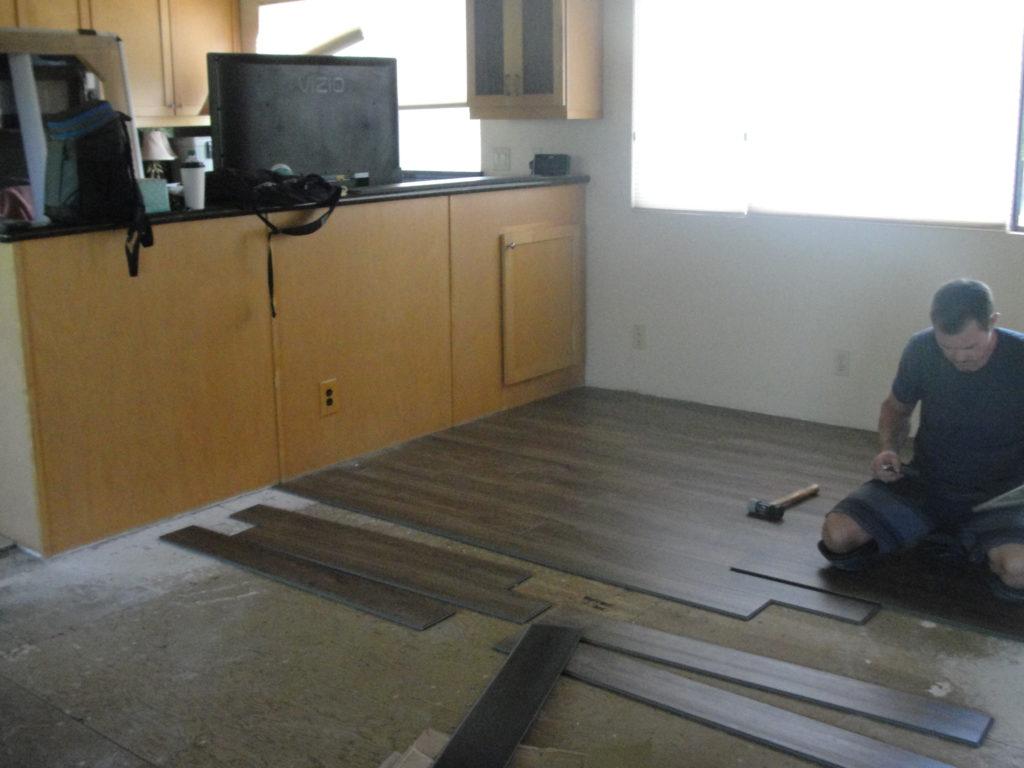 Laying new Flooring