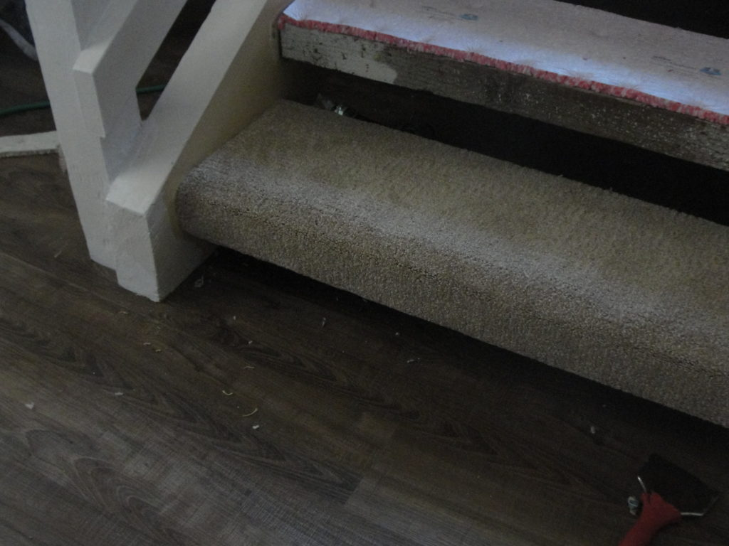 New Carpet on the Stairs