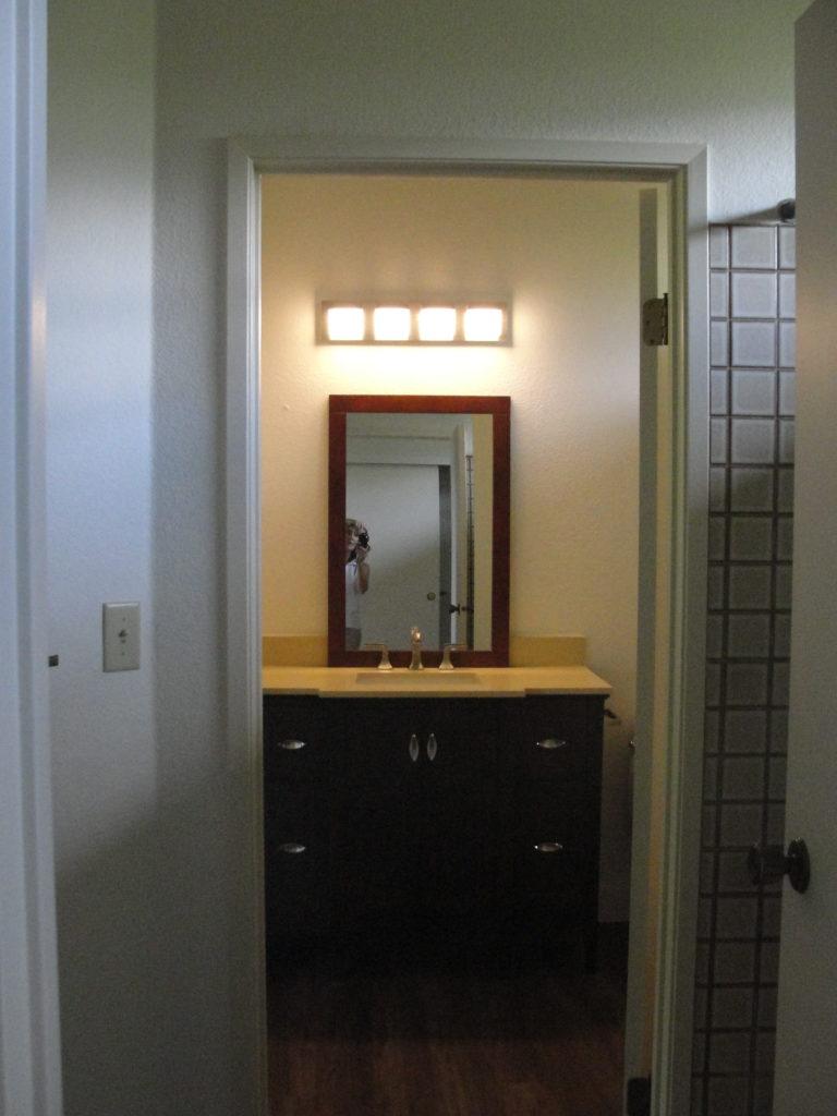 New Vanity Master Bathroom